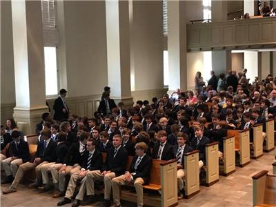 McCallie Middle School Awards Day