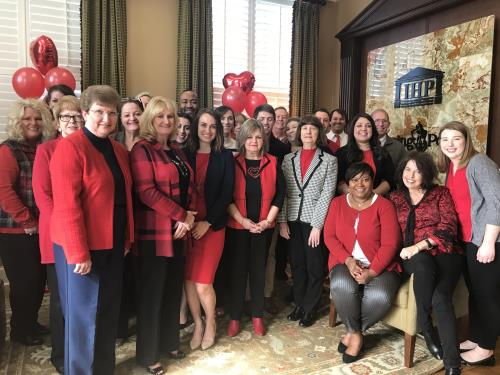 Go Red For Women: Wear red today