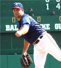 Chris Hammonds begins the 2002 season as an Atlanta Brave.