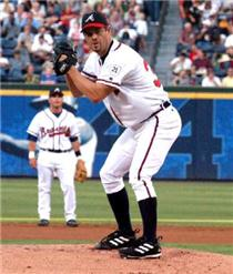 The Braves have offered arbitration to right hander Paul Byrd. <i>Click to enlarge photo.</i>
