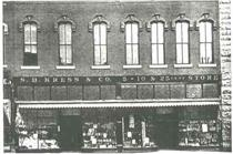 S.H. Kress storefront in 1907. Click to enlarge.
