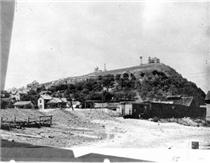 Cameron Hill in the days of the incline and pagoda.  Click to enlarge.