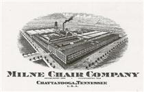 The Milne Chair Company was a huge factory complex in Avondale.  Milne Street is still found there today. Click to enlarge.