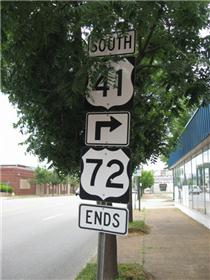 Historic Highway Us 72 The Bee Line To Memphis Chattanoogancom