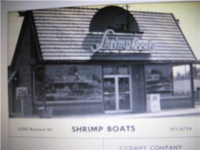 Shrimp Boats was a sponsor of the 1969 East Ridge High School yearbook.
