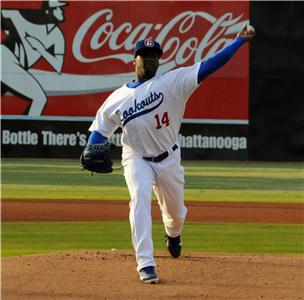 Onelki Garcia (0-1) took the loss for the Lookouts.