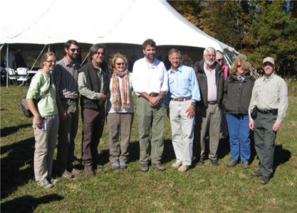 Tennessee Natural Areas Division staff with Governor Haslam, including (left to right): Sunny Fleming, Brian Ross, Brian Bowen, TN State Parks Senior Advisor Anne Marshall, Natural Areas Director Roger McCoy, Governor Haslam, Forrest Evans, Lisa Huff and David Lincicome.