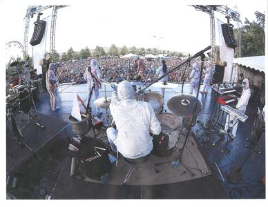 Here Come The Mummies At Engel Stadium May 2