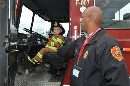 Chattanooga Fire Department Hosts Halloween Open House