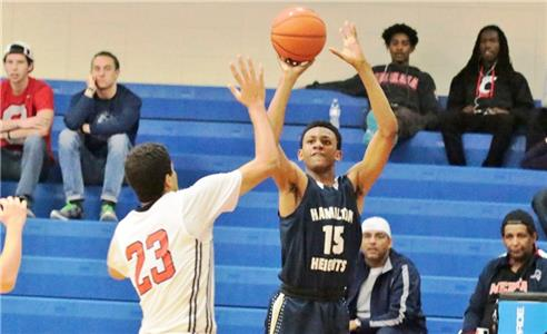 Nickeil Walker, a 6-foot-5-inch junior guard from Toronto, Ontario, Canada, led Hamilton Heights with 14 points in a 68-40 win over Wesley Christian, of Allen, Ky., Saturday in the Hawks Havoc at Chattanooga State. Walker hit 3-of-4 3-point shots in the game.