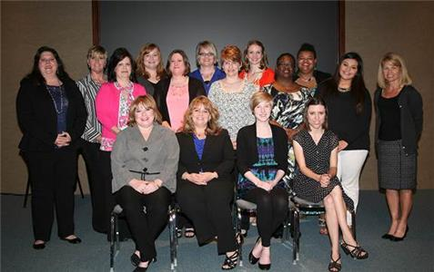 Pictured are:  