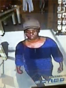 This Woman Is Wanted For A Robbery At Rugged Wearhouse