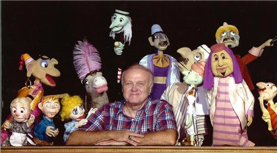 Fred Arnold and his puppets
