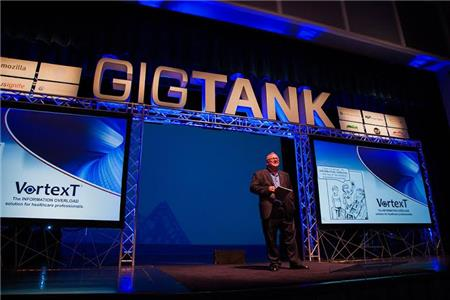Barry Goss with VortexT at GIGTANK Demo Day 2015