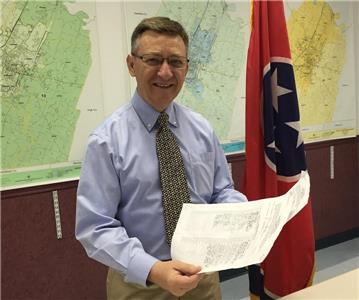 Rep. Dan Howell files his qualifying papers as he announces his intention to seek another term as District 22 representative