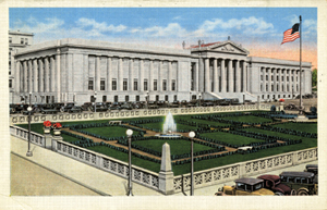 Postcard of Tennessee War Memorial Building