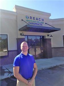 Dr. Ryan Lee at the new Reach Health and Wellness Chiropractic office