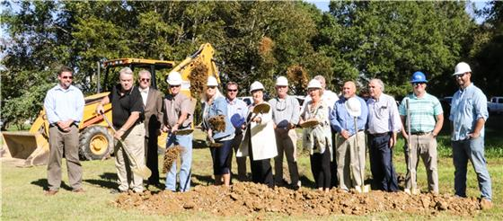 Leaders from Whitfield County and Cohutta break ground  Monday for a new fire station in Cohutta on Cohutta/Varnell Road. Station 11 is expected to be ready by the middle of next year, in the process helping to reduce homeowner's insurance premiums in Cohutta because of the lower ISO rating that will result.