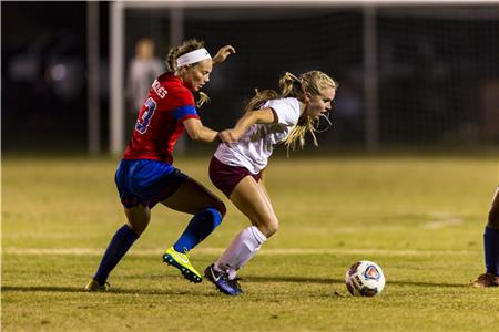 Summer Lanter scored the game-winner with just over five minutes remaining in regulation to give the Lady Flames a 1-0 victory over West Georgia in the GSC Tournament Quarterfinal.