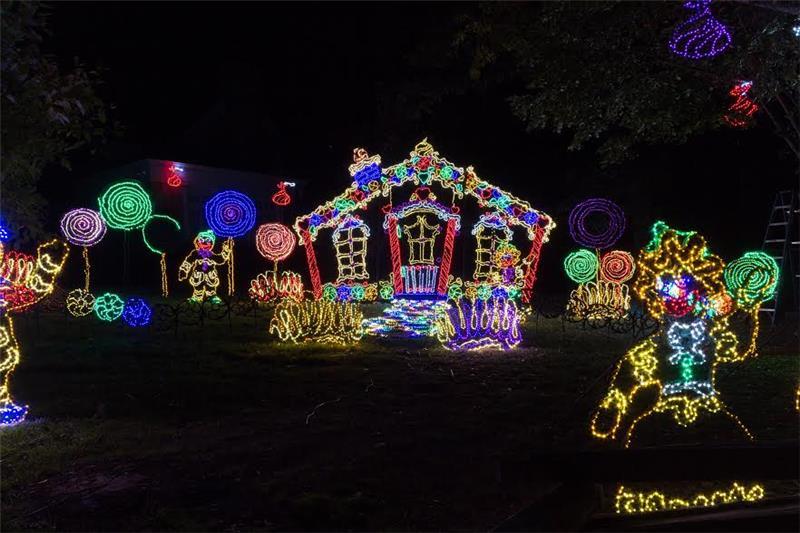 Rock city s enchanted garden of lights returns nov 17 - Rock city enchanted garden of lights ...