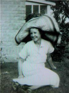 Chester Martin's Aunt Lydia Martin living the good life in Texas in the 1950s