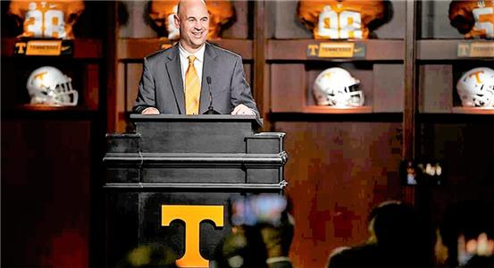 Jeremy Pruitt was introduced Thursday as the new Tennessee football coach assigned to restore the proud Vols' program to respectability after a decade of  decline. Pruitt's gung-ho attitude and overall success as a highly respected defensive coordinator at Alabama has Tennessee fans excited about the future.