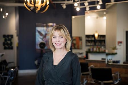 Kathryn Werk, owner, master stylist and educator for Pasha Salon