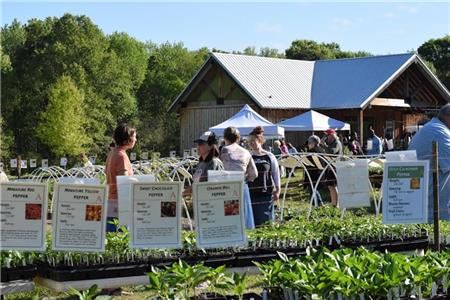 Crabtree Farms will hold its 17th annual Spring Plant Sale April 7-9