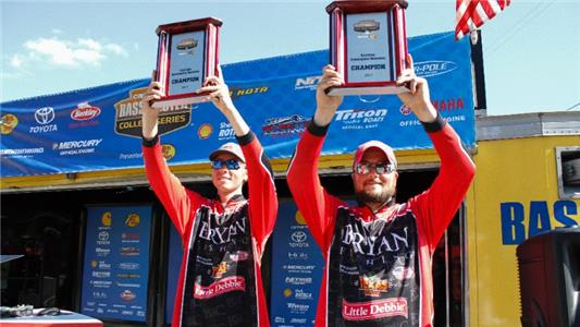 Nathan Bell and Cole Sands of Bryan College won the Carhartt Bassmaster College Series Eastern Regional presented by Bass Pro Shops on Cherokee Lake with a three-day total weight of 44 pounds, 4 ounces.