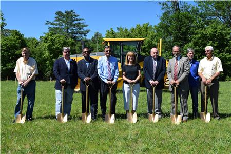 Janice Casteel, Cleveland and Bradley County leaders break ground for the new Casteel Connector to the greenway