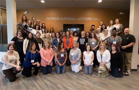 Attendees of the THEC Grant Educators Workshop gathered with Dr. Donna Summerlin and Dr. Delia Price