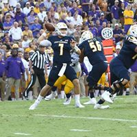 UTC quarterback Nick Tiano passes against a stingy LSU defense.