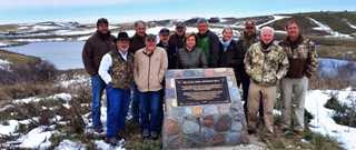TWRA staff members and commissioners traveled to Saskatchewan to tour conservation projects implemented by Ducks Unlimited Canada and supported by TWRA