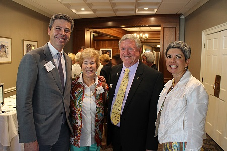 President & CEO Phil Acord (second from right) is pictured here with Mayor Andy Berke, former Board Chairman Betsy Caldwell, and Monique Berke.