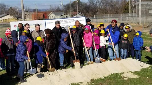 Groundbreaking was held at the new Avondale Youth and Family Development Center Thursday morning