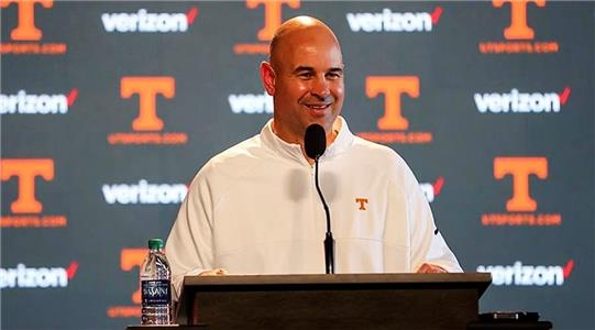 New Tennessee football coach Jeremy Pruitt held his first press conference since helping Alabama win the national football championship Monday in Atlanta. Pruitt now has total focus on his new duties in Knoxville.