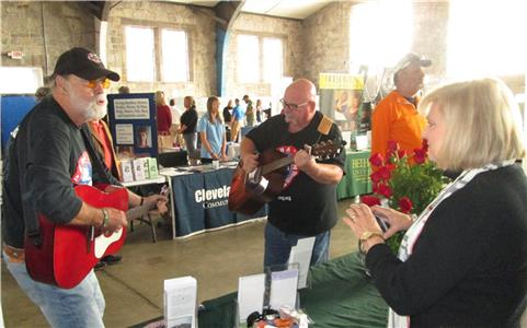 Veterans attending last year's event were serenaded by members of Operation Song. Operation Song, which will be on hand again this year, works to empower veterans to tell their stories through song writing.
