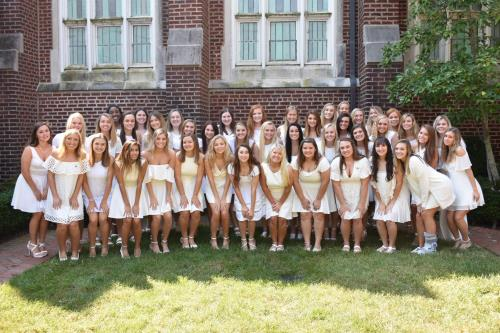 Sigma Kappa Hosts Founders Day And Initiation Celebration