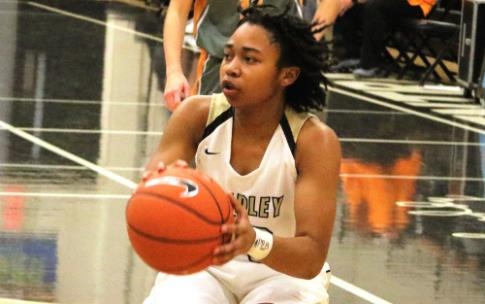 Sophomore point guard Jamaryn Blair scored a season-high 18 points Saturday night as Bradley Central beat Sullivan Central, 55-37, to win their fourth straight Holiday Inn Express Thanksgiving tournament championship. Blair had scored just 13 points in the previous two tourney games.