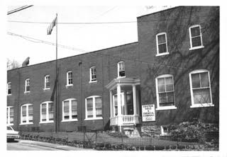 The outside of the Chattem facility in 1966