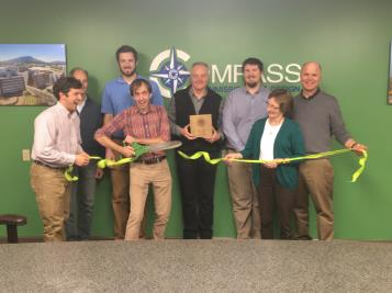 Compass Commissioning and Design held a ribbon cutting in celebration of completion of its green|light Certification