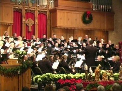 The Roueche' Chorale and Orchestra with Jeff Roueche', founder and artistic director