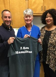 849947c73 I Am Hamilton T-Shirt Presented To Tammie Vaillancourt