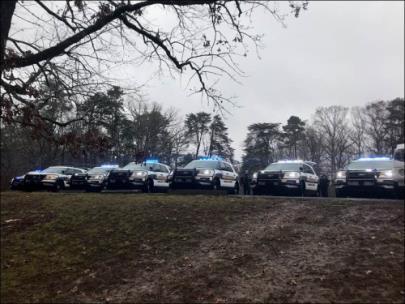 Hamilton County Sheriff's Deputies Make Surprise Birthday Party