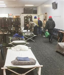 Greater Works provided a warm place to spend the night, along with three meals a day, during the recent extreme cold snaps in Whitfield County.