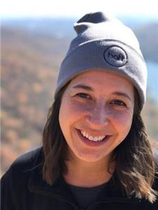 Olivia Conner in a Hattanooga beanie