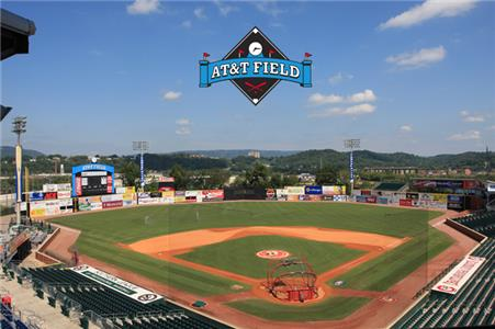 AT&T Field is the downtown home of the Chattanooga Lookouts