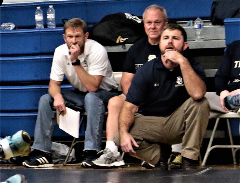 Wrestling coach