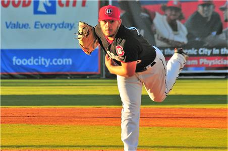 The Lookouts provided little offense as starter Lewis Thorpe picked up his second loss.