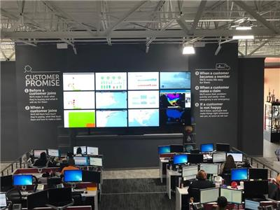 The new HomeServe USA 45,000-square foot Customer Center of Excellence
